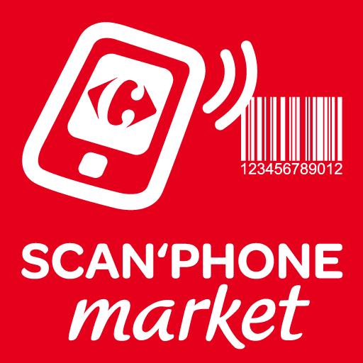 Scan'Phone market Icon