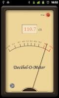 Screenshot of Decibel-O-Meter