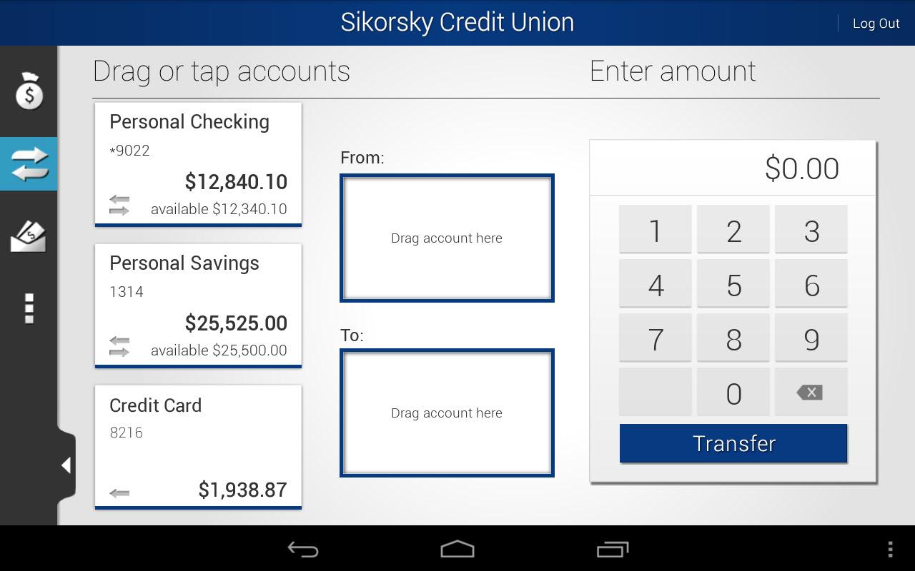 Sikorsky Credit Union - screenshot