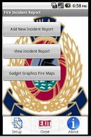 Screenshot of Fire Incident Report Pro