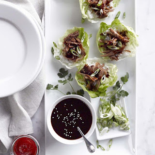 Ginger-Sesame Pork Lettuce Wraps