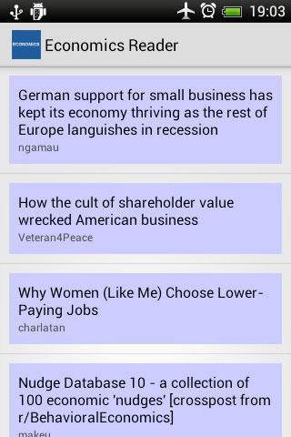 Economics Reader