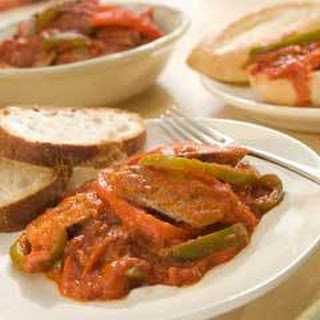 Sausage & Peppers (6 Servings).