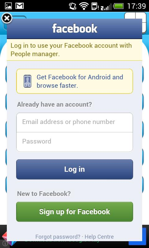 People Manager - screenshot