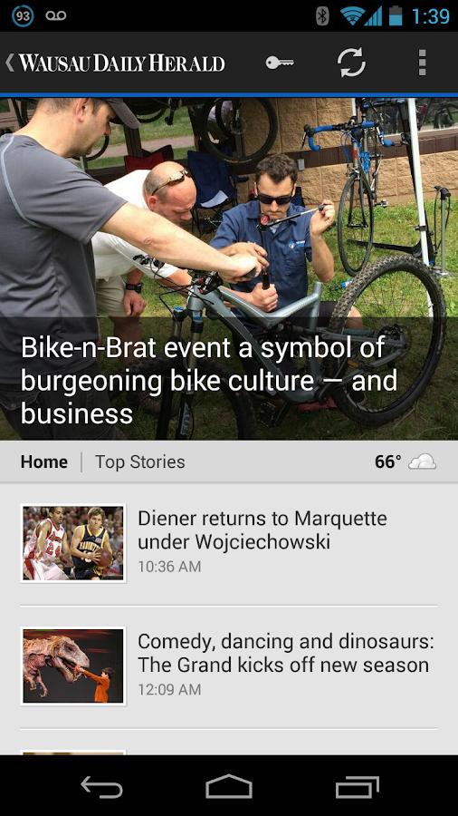 Daily Herald - screenshot