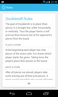 Doublemill 2 Nine men's morris - screenshot thumbnail