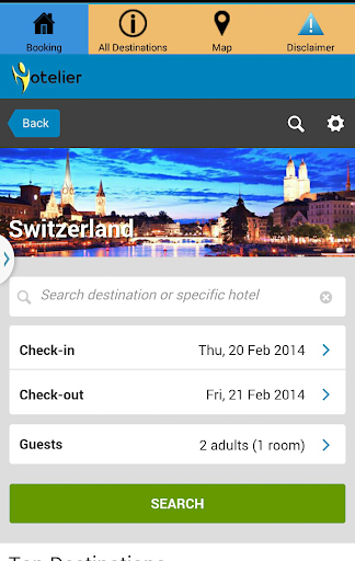 Switzerland Best Hotel Booking