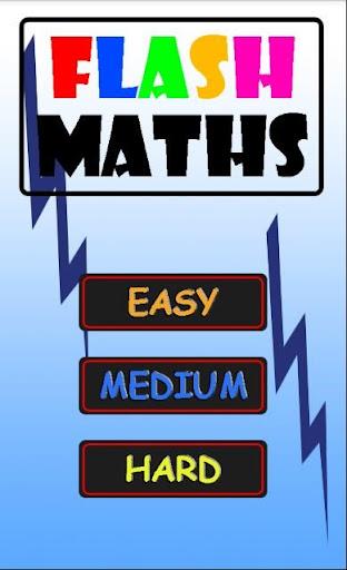 Flash Maths