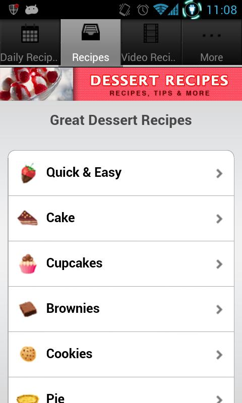 Dessert Recipes!- screenshot