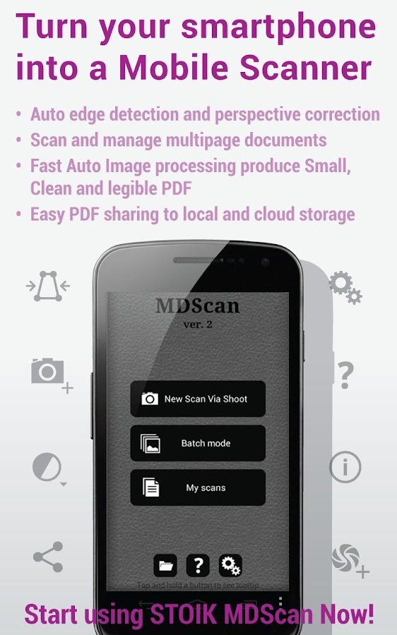 Mobile Doc Scanner Lite - screenshot