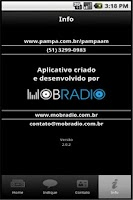 Screenshot of Rede Pampa/Rádio Pampa AM
