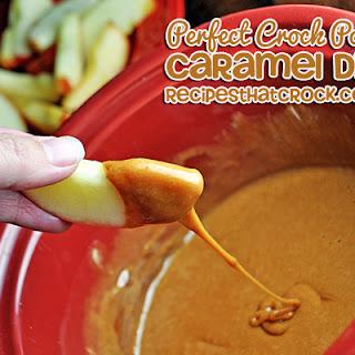 Crock Pot Caramel Dip.