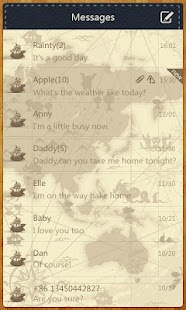GO SMS Pro Navigation ThemeEX - screenshot thumbnail