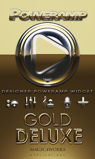 Poweramp Widget Gold Deluxe