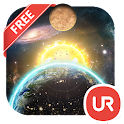 UR 3D Solar System Live Theme