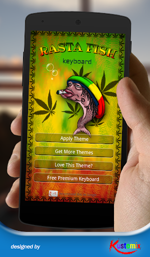 Rasta Fish Keyboard