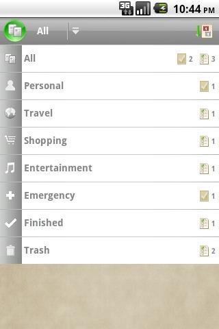 Checkmark To Do & Task List- screenshot