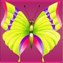 Beautiful Butterflies Icons logo