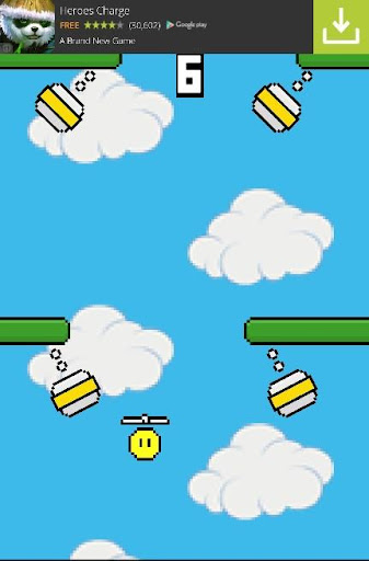 玩街機App|Take Copter Bamboo Copter Game免費|APP試玩