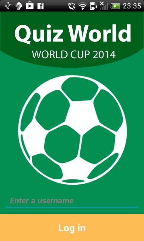 Quiz World - World Cup 2014 - screenshot