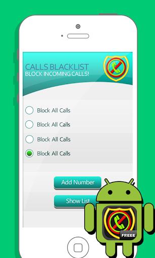 Call Blocker Blacklist Filter