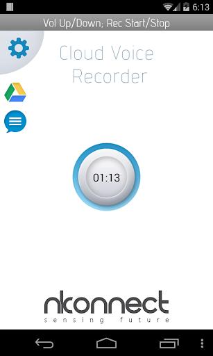 Cloud Voice Recorder