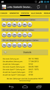 Lotto Statistik Deutschland - screenshot thumbnail