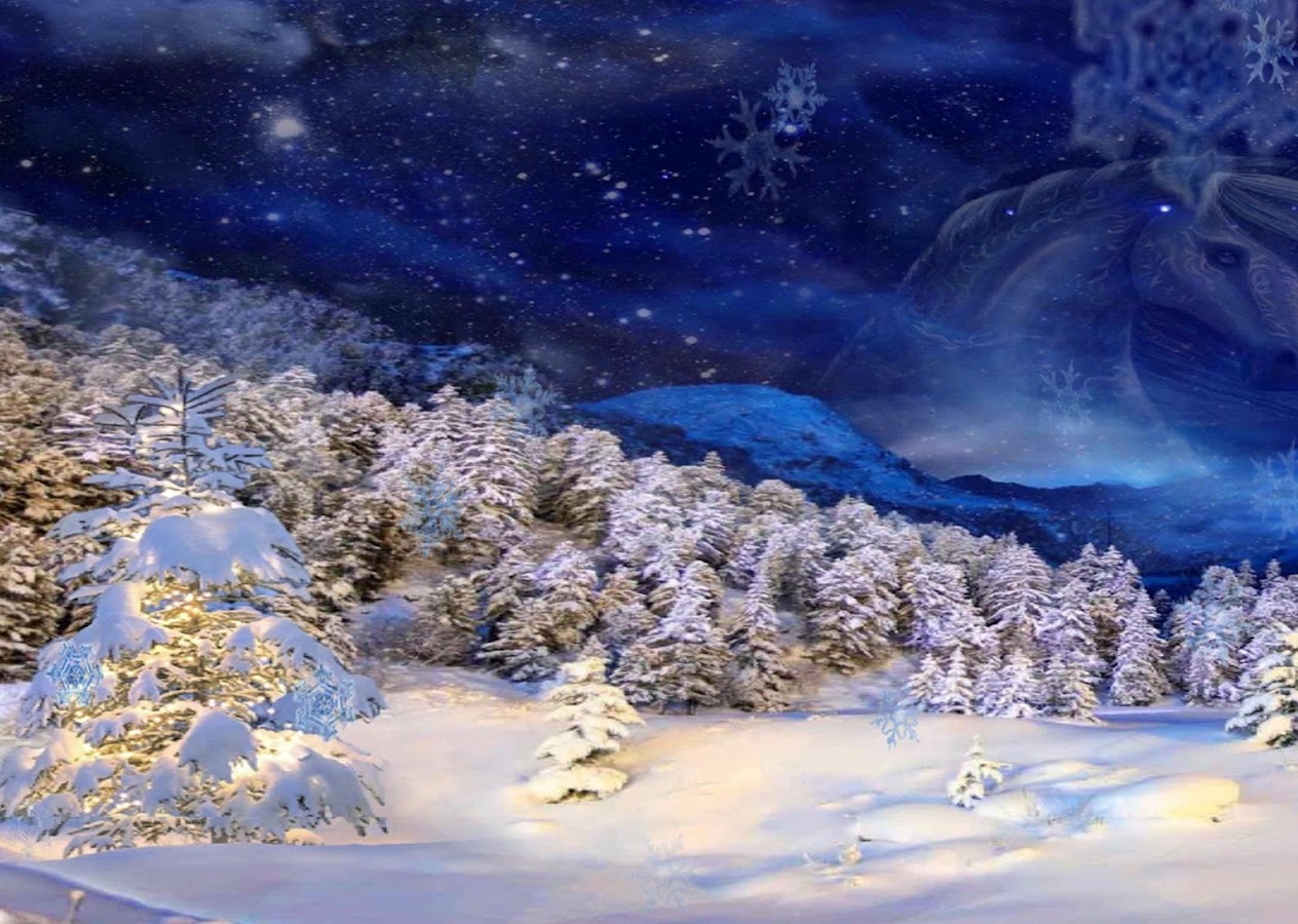 3d winter live wallpaper android apps on google play