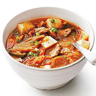 Pork and Kimchi Stew.
