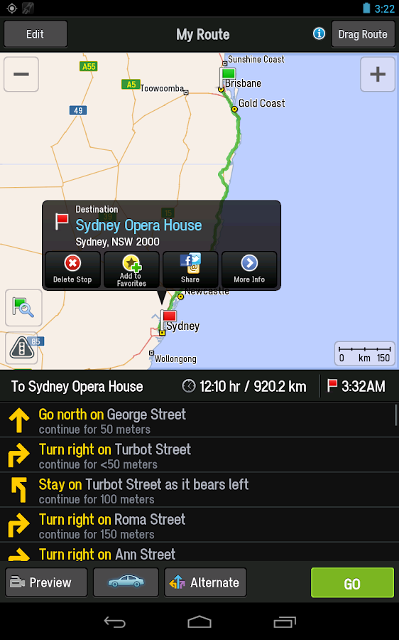 CoPilot AUS + NZ Navigation- screenshot
