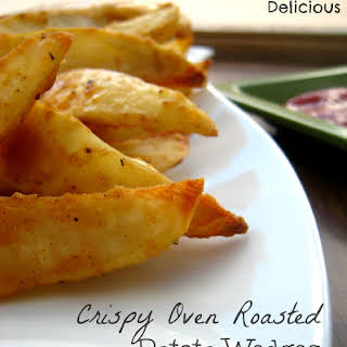 Oven Roasted Potato Wedges.