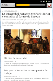 Spanish Newspaper Front Pages - screenshot thumbnail