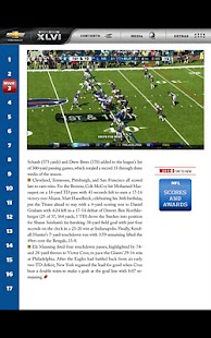 Super Bowl XLVI Game Program - screenshot thumbnail