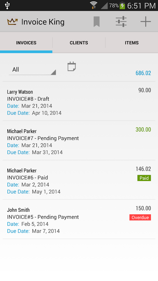 Invoice King Android Apps On Google Play - Pdf invoice maker everything 1 dollar store online