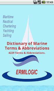 Λεξικό Ναυτικών Ορων - screenshot thumbnail