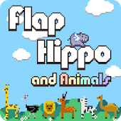 Flappy Hippo Animal