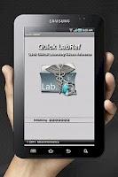 Screenshot of Quick LabRef