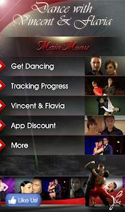 Dance with Vincent & Flavia- screenshot thumbnail