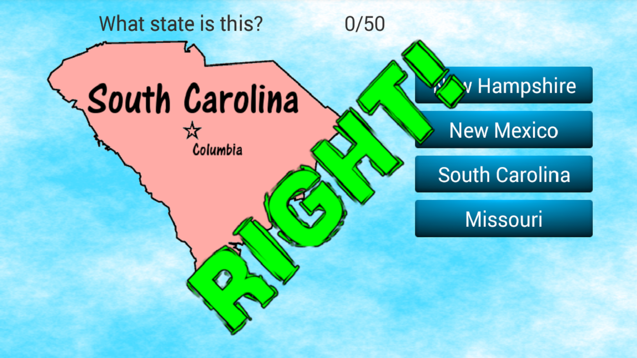 US States And Capitals Quiz Android Apps On Google Play - States and capitals of the usa quiz