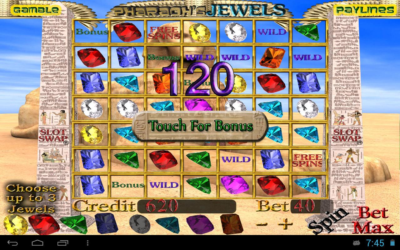 Jewel Quest™ Slot Machine Game to Play Free in Cryptologics Online Casinos