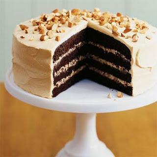 Toffee Crunch Cake.
