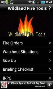 Wildland Fire Tools - screenshot thumbnail