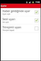 Screenshot of Spor Haberleri