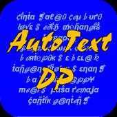 AutoText DP - Buat Status Gaul