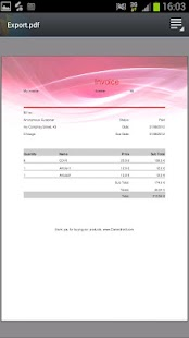 My Invoices (free) - screenshot thumbnail