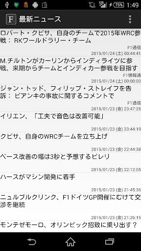 Formula Fan~最新News