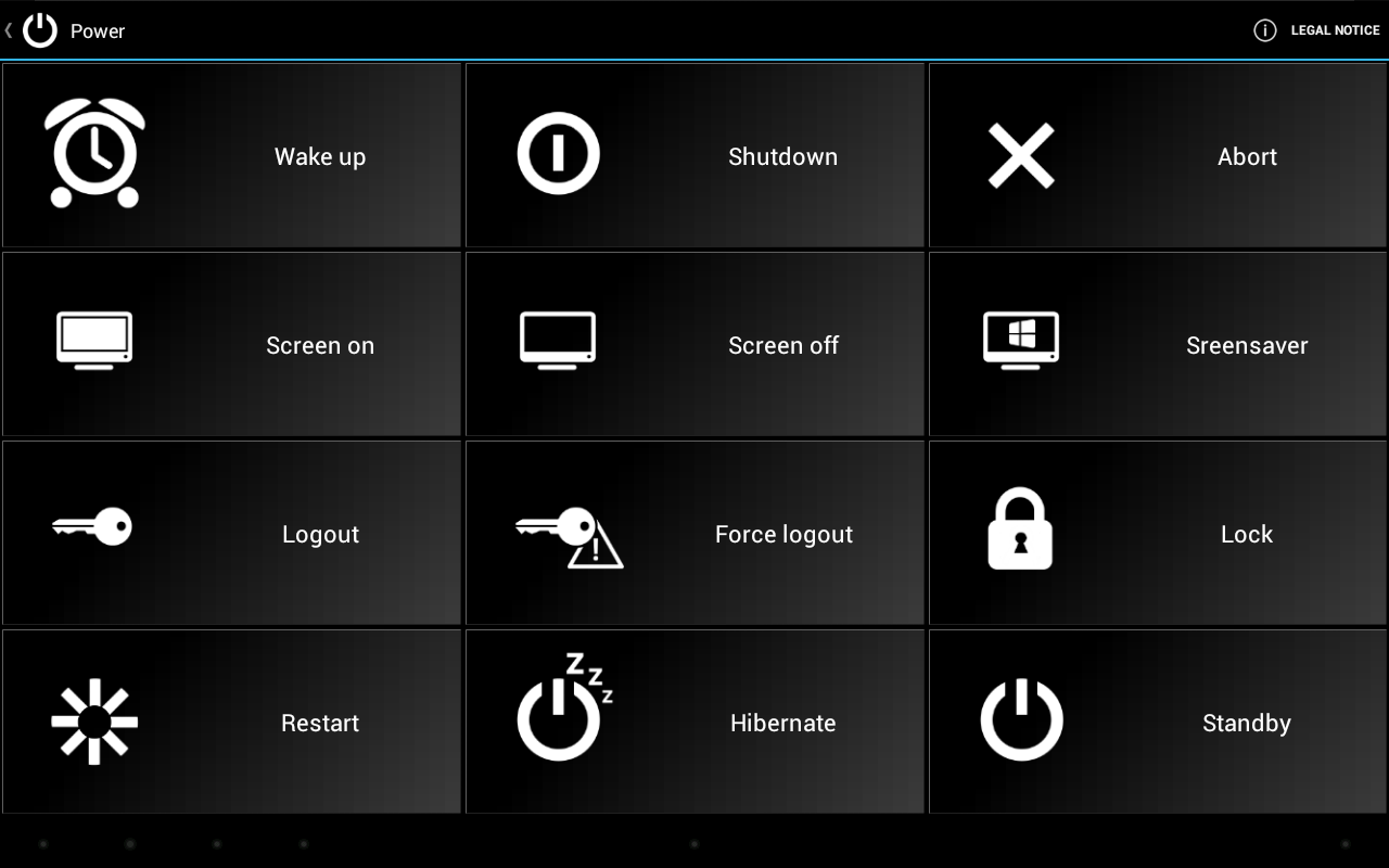 WIN - Remote Control PRO - screenshot