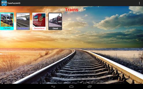 火車拼圖HD