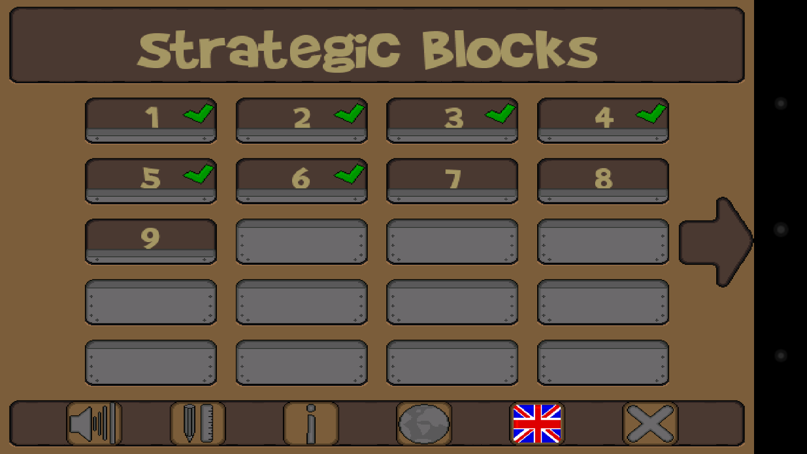Strategic Blocks- screenshot