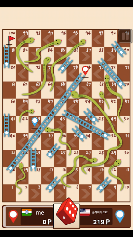 Snakes-Ladders-King 30